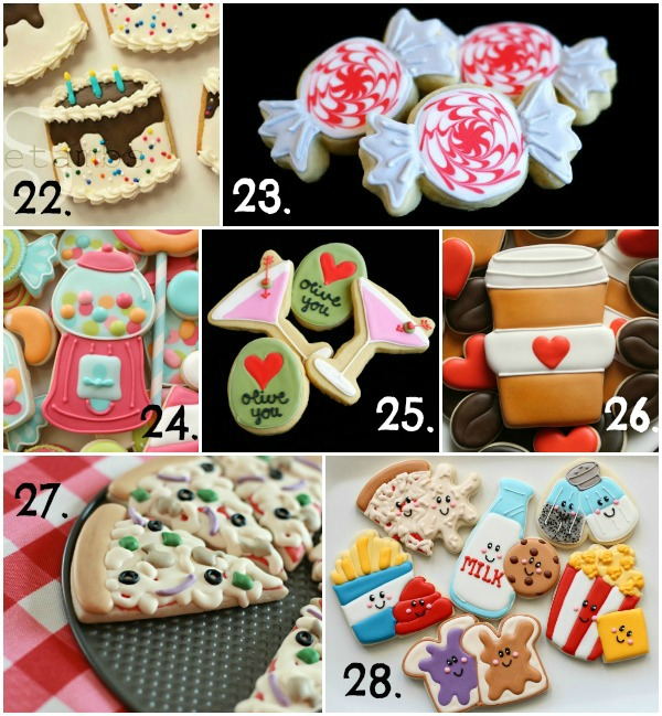 Cute Valentine's Day Cookie Ideas 4
