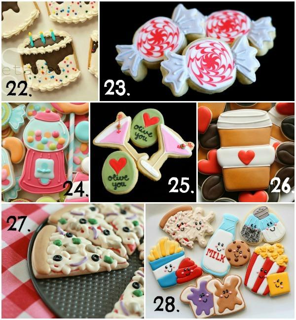 Cute Valentine's Day Cookie Ideas 4