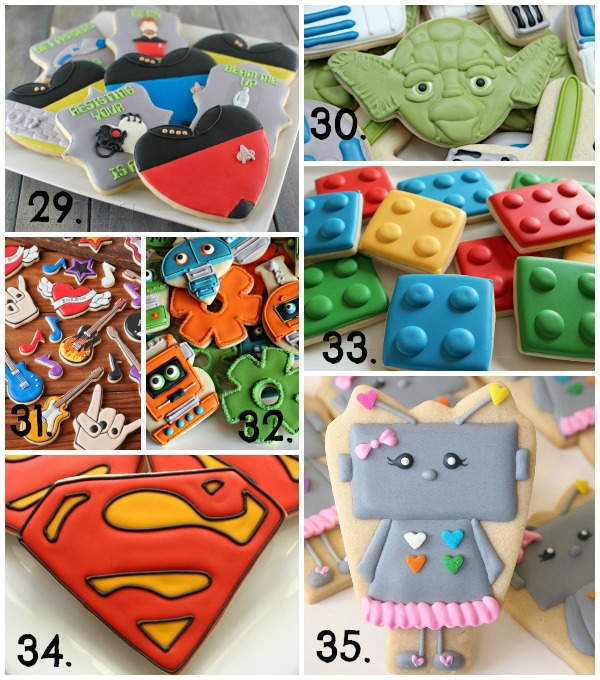 Cute Valentine's Day Cookie Ideas 5