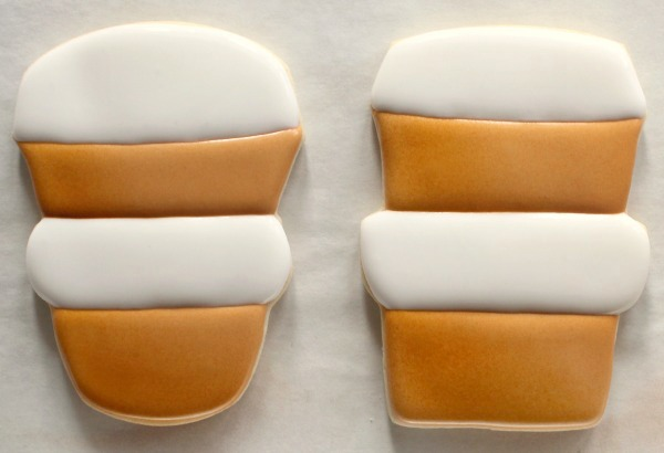 Decorated Latte Cookies 4