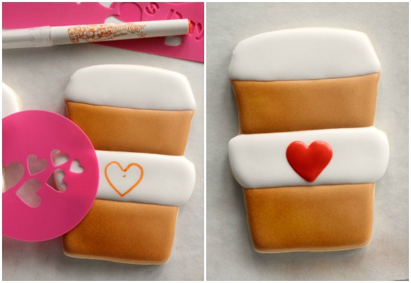 Decorated Latte Cookies 8