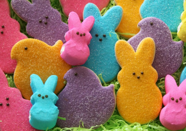Peeps Cookies for Easter
