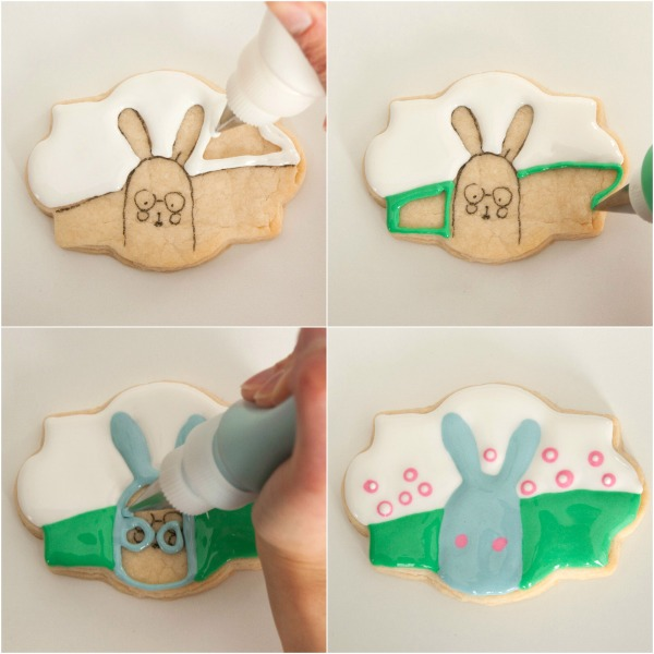 Easter Bunny Cookie 3