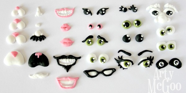 Royal Icing Face Transfers