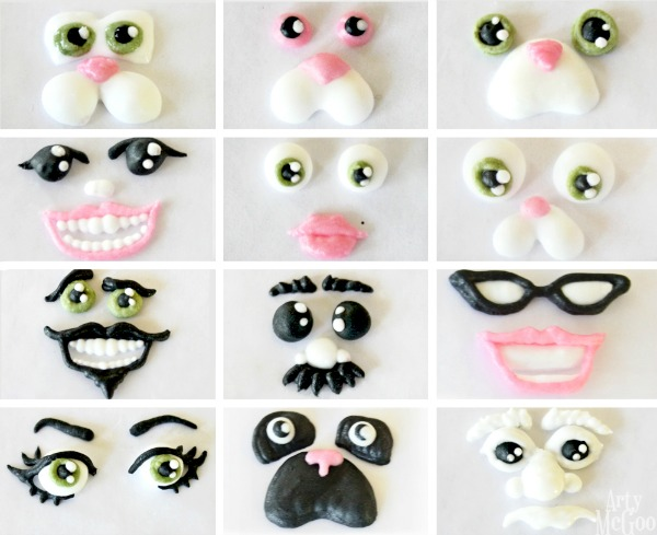 Royal Icing Faces