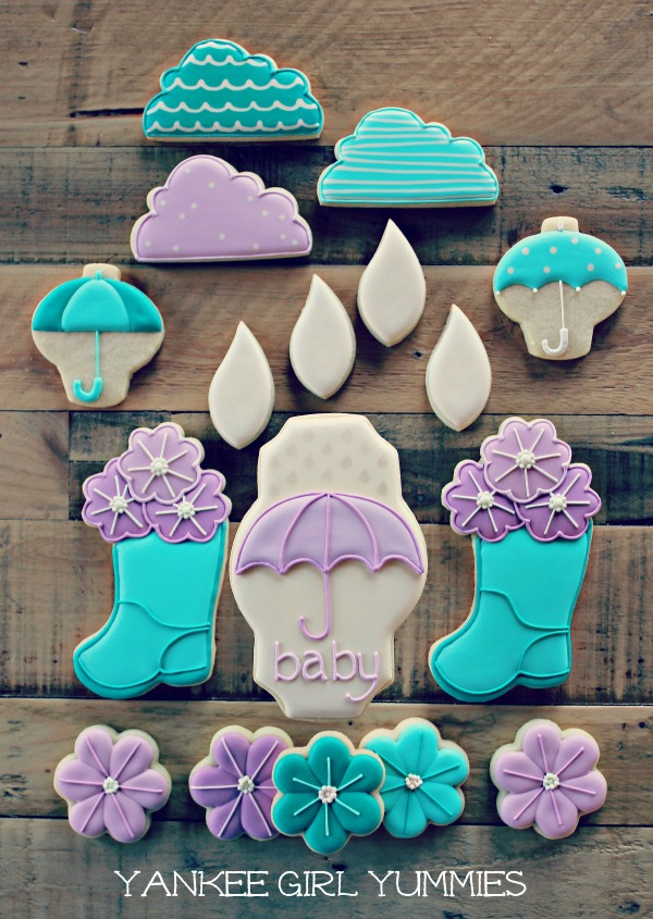 Baby Shower Cookies Yankee Girl Yummies