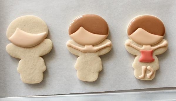 Ballerina Cookies 1