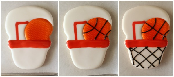 Basketball Goal Cookies 5
