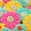 Bright and Pretty Daisy Cookies