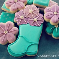 Flower in Boot_Yankee Girl Yummies