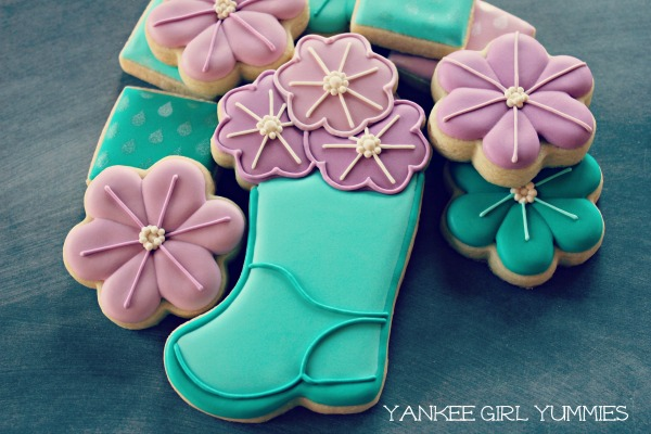 Flower in Boot_Yankee Girl Yummies