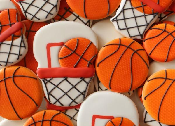 Basketball Cookies Sweetsugarbelle