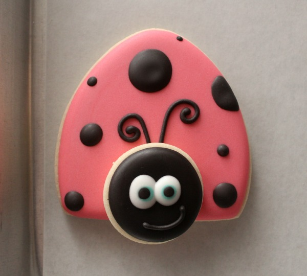 Cute Ladybug Cookie Sweetsugarbelle