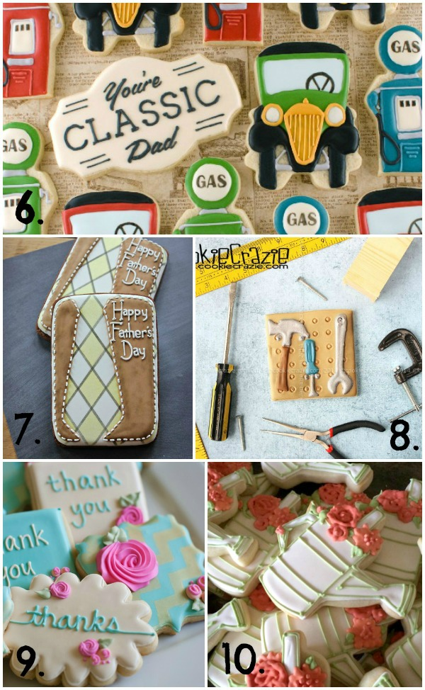 Father's Day Cookies and More