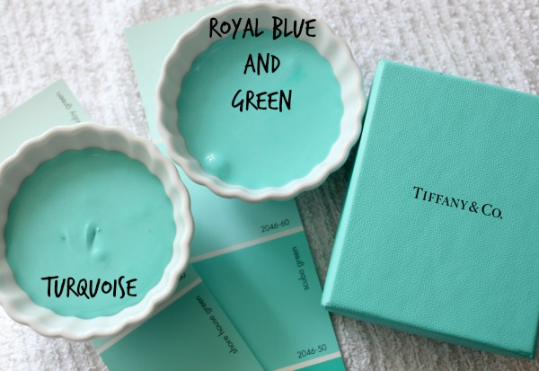 How To Make Tiffany Blue Royal Icing