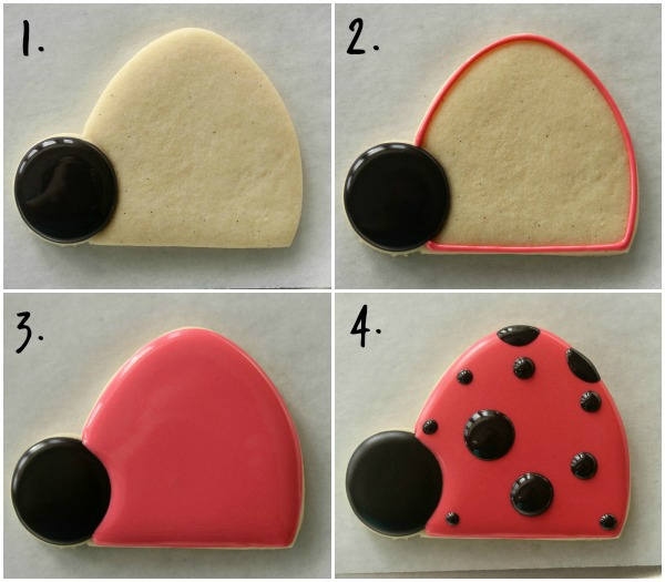 How to Make Ladybug Cookies Sweetsugarbelle