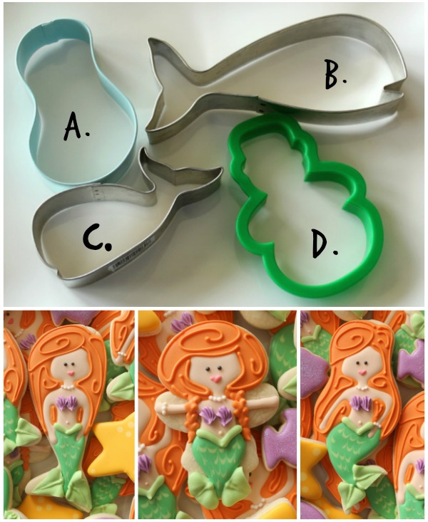 Mermaid Cookie Cutter Collection