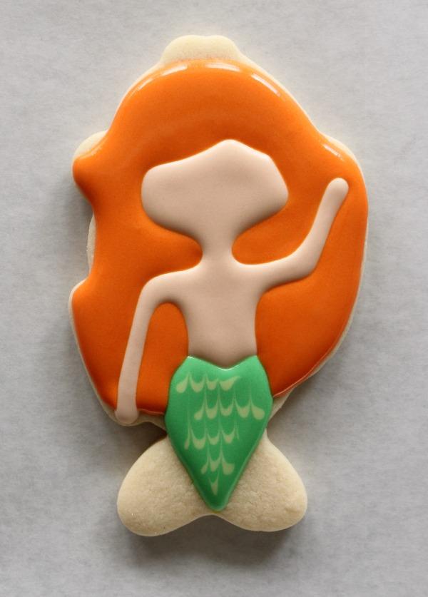 Mermaid Cookie How To 1