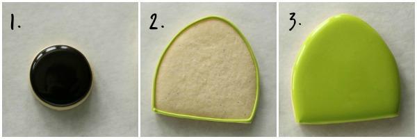 Modern Ladybug Cookies