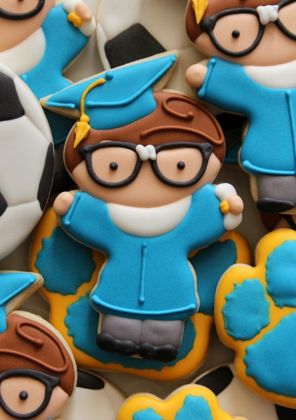 Nerdy Graduate Cookie