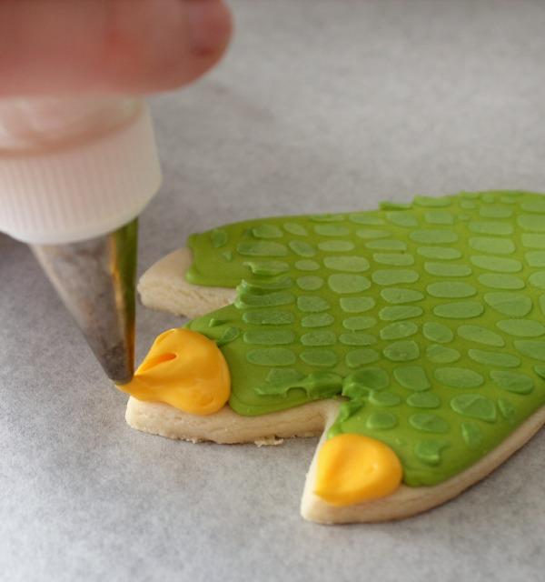 Dinosaur Claw Cookie