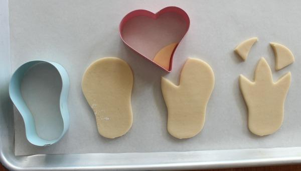 Dinosaur Footprint Cookie Cutter