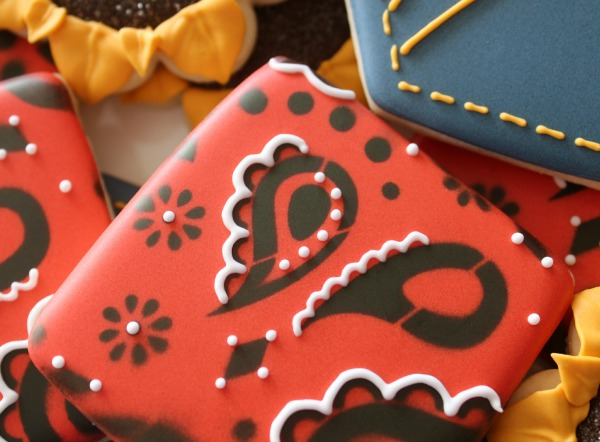 Easy Bandana Cookies