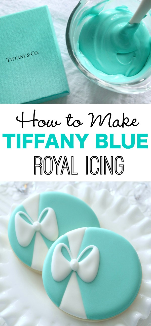 How To Make Tiffany Blue Icing