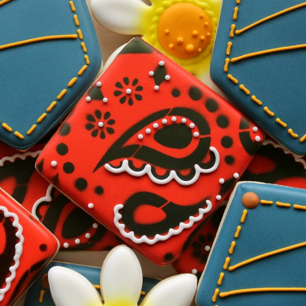 Decorated Bandana Cookie