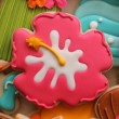 Hibiscus Cookie