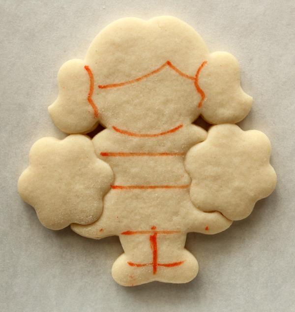 Cheerleading Cookie