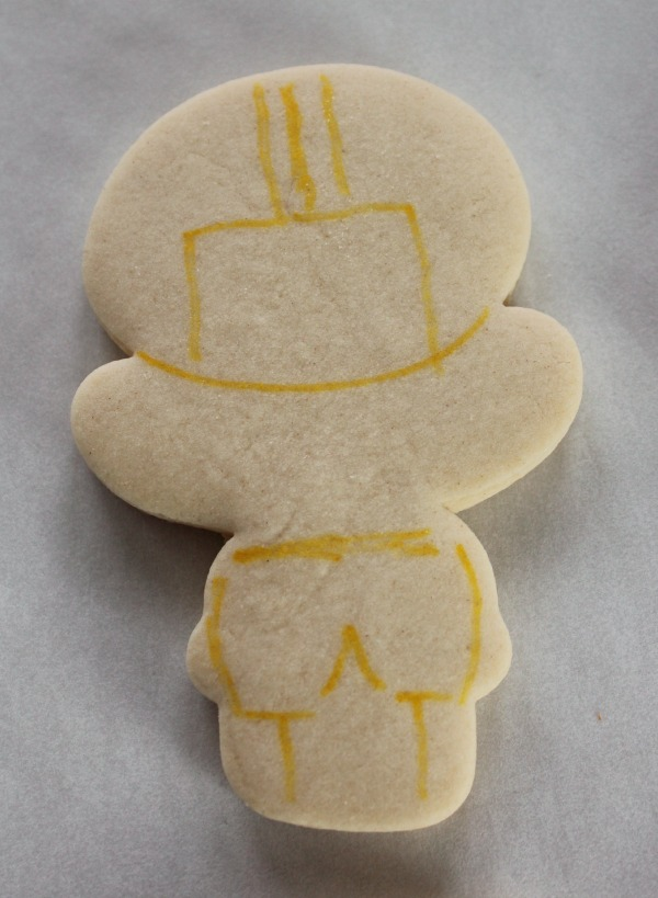 Football Player Cookie How To
