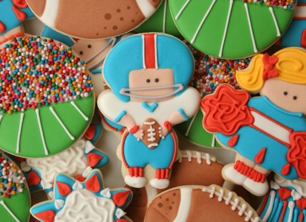 Football Player Cookie Sweetsugarbelle