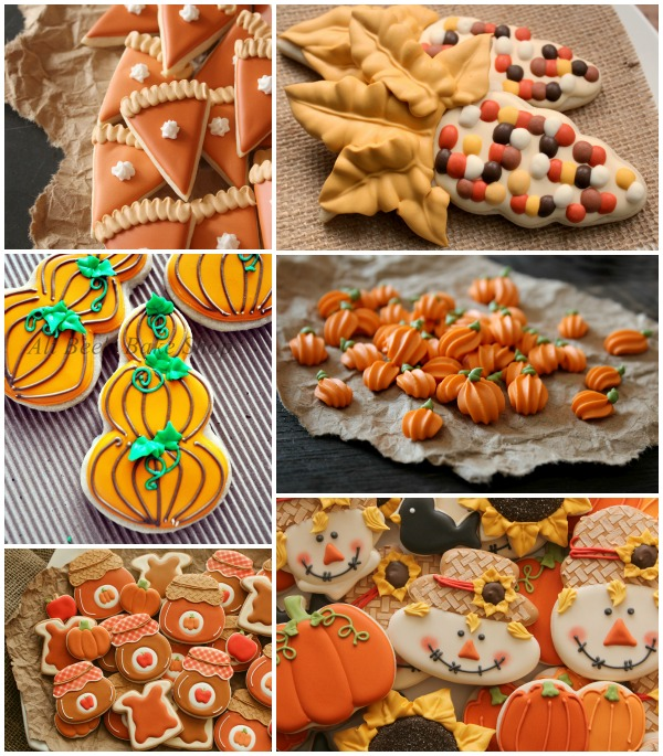 Autumn Cookie Ideas