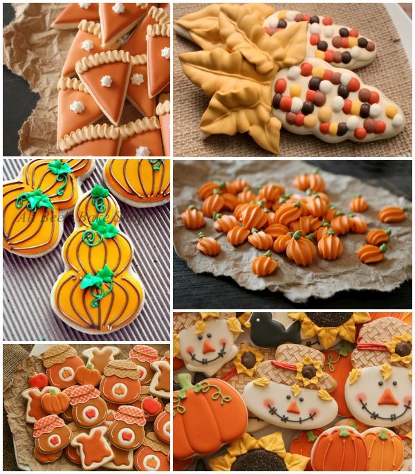 Autumn Cookie Ideas