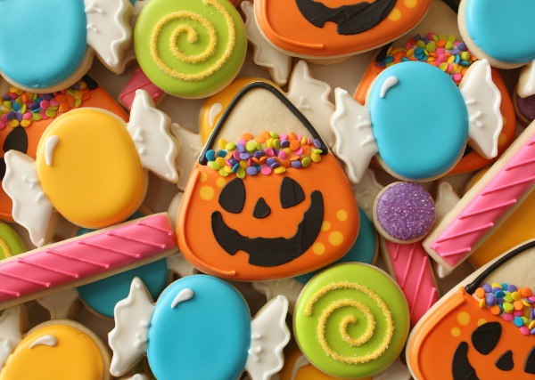 Trick or Treat Bucket Cookies