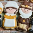 Cute Pilgim Cookies