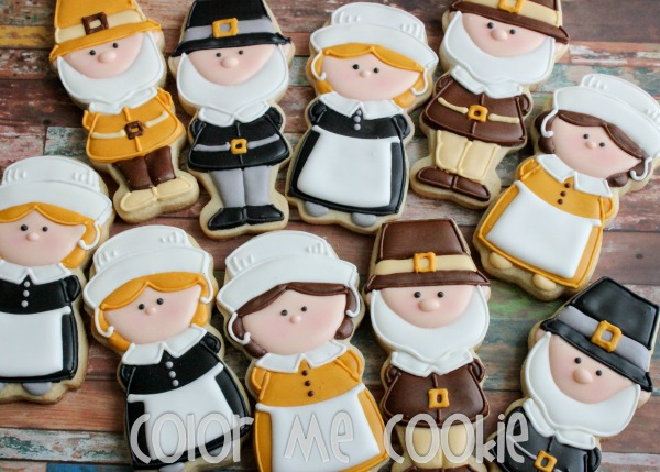 Thankgiving Pilgrim Cookies