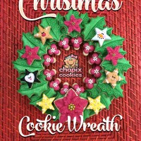 Chapix Christmas Cookie Wreath