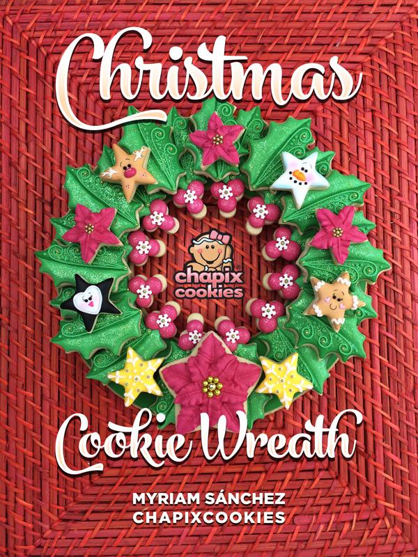 Chapix Christmas Cookie Wreath