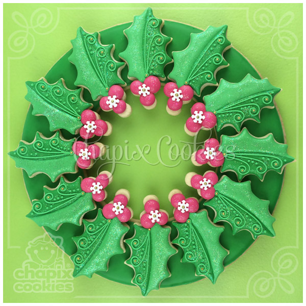 Chapix Cookie Wreath 11