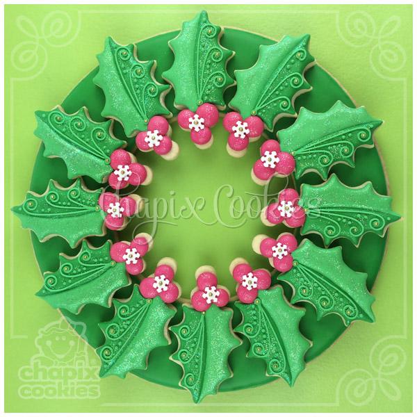 Chapix Cookie Wreath 11