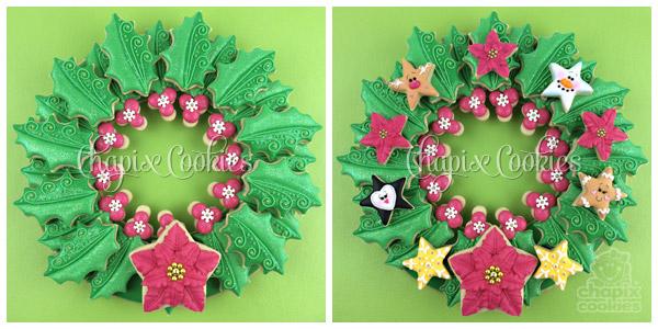 Christmas-Cookie-Wreath-by-Chapix-Cookies