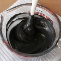 Black Royal Icing 8