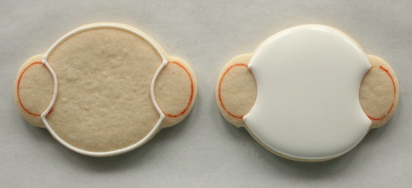 Snowman Cookies with Earmuffs 1