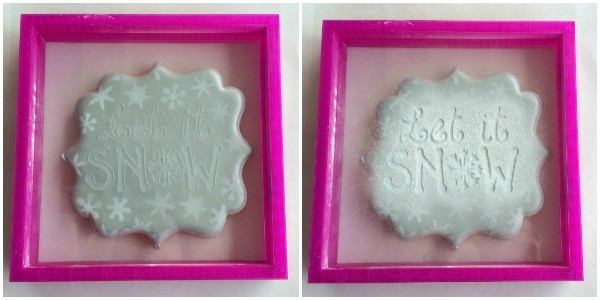 White Airbrushing on Cookies