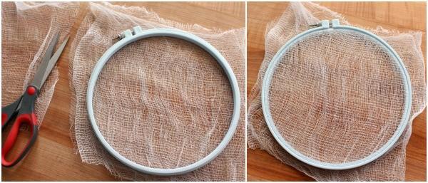 Airbrush Burlap Texture
