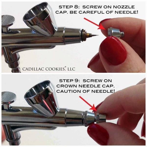 Airbrush Needle Nozzle Cap