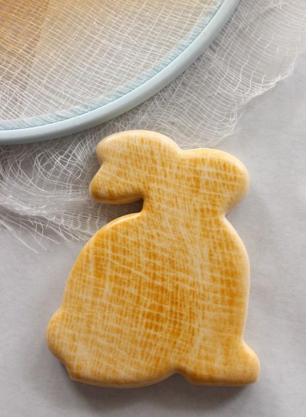 Burlap Print Cookies
