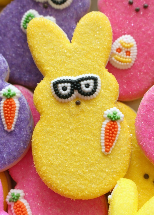 Peeps in Disguise Cookies Sweetsugarbelle